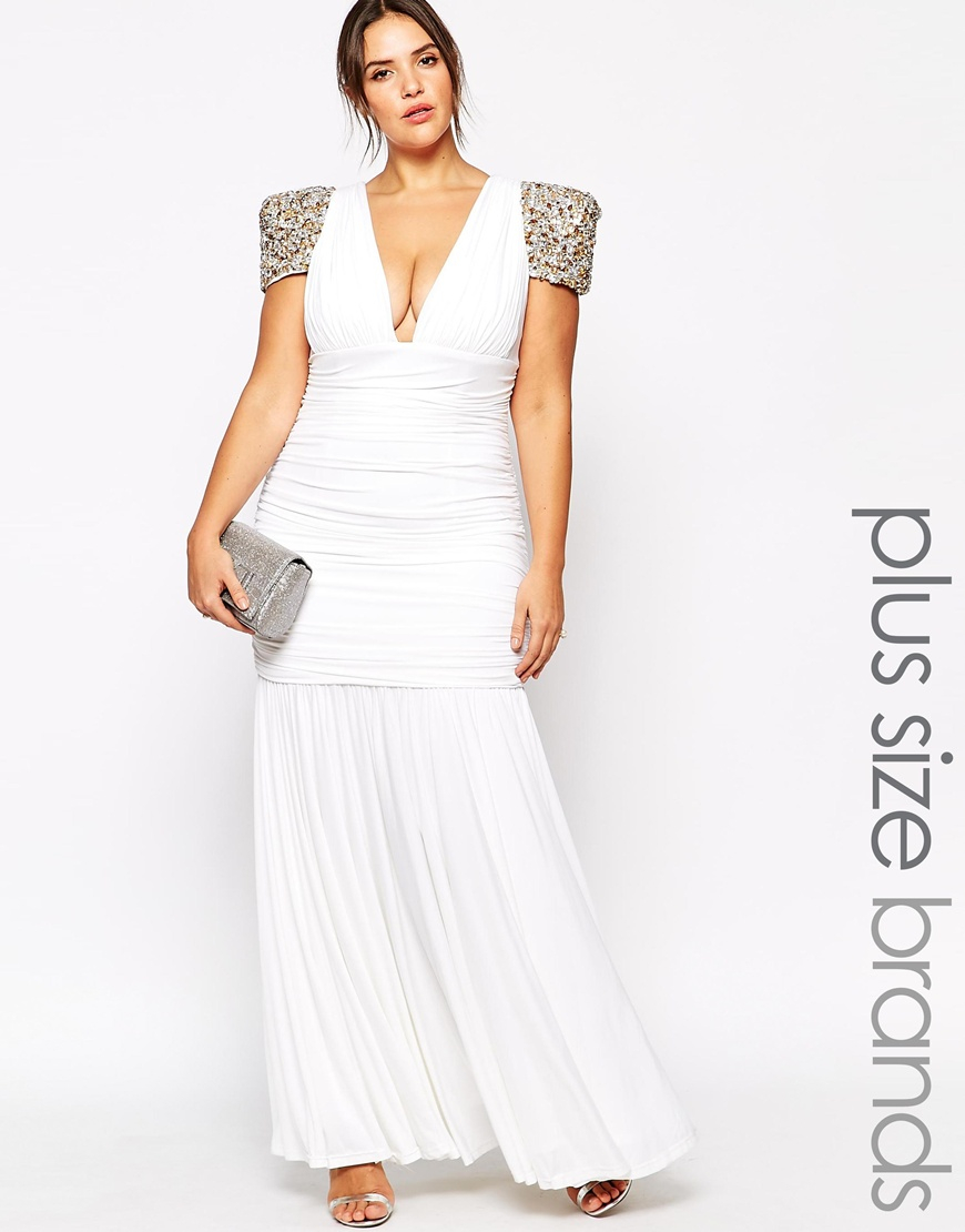 Plus Size Dolores Maxi Dress