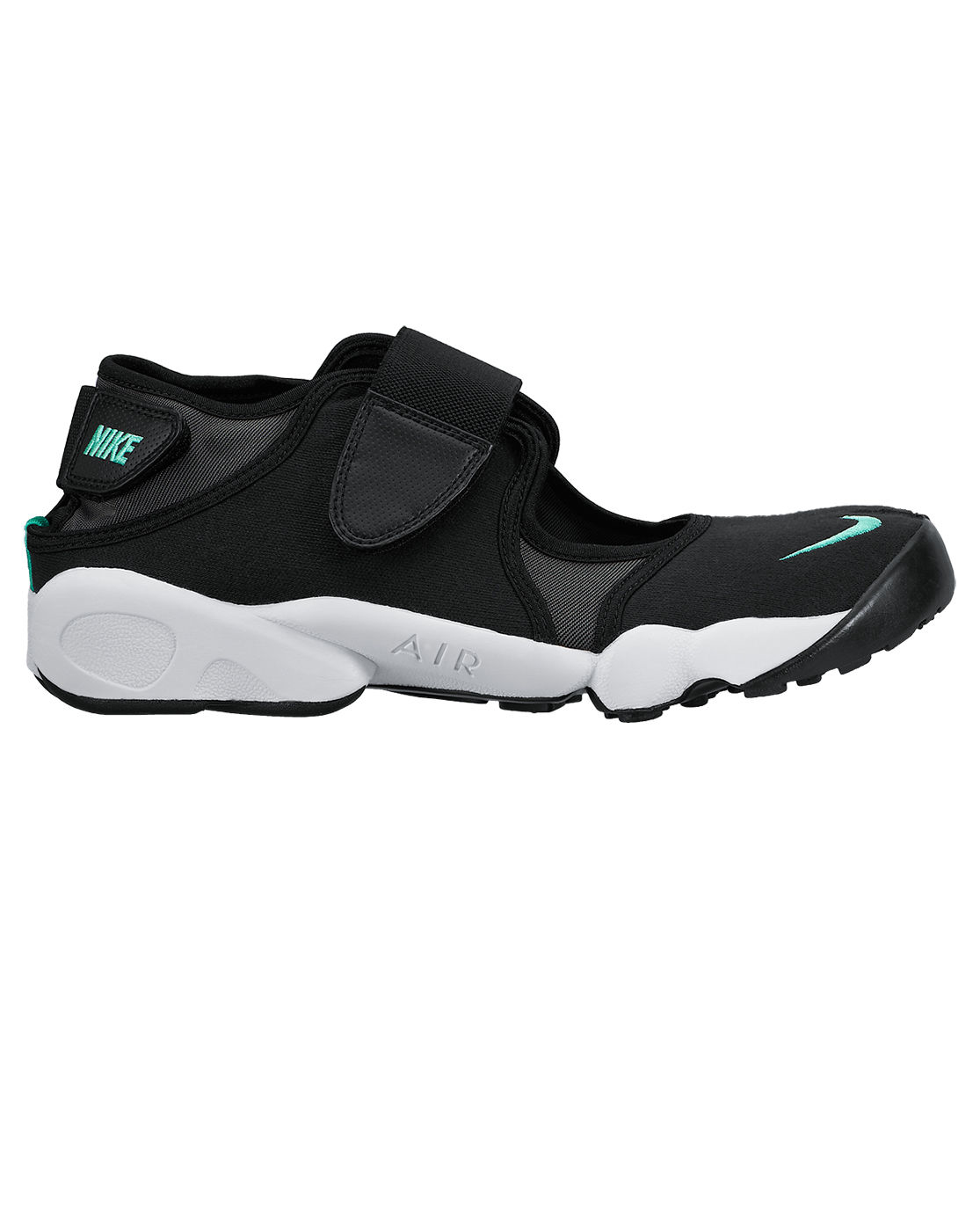 nike air rift black sneakers in black for men lyst. Black Bedroom Furniture Sets. Home Design Ideas