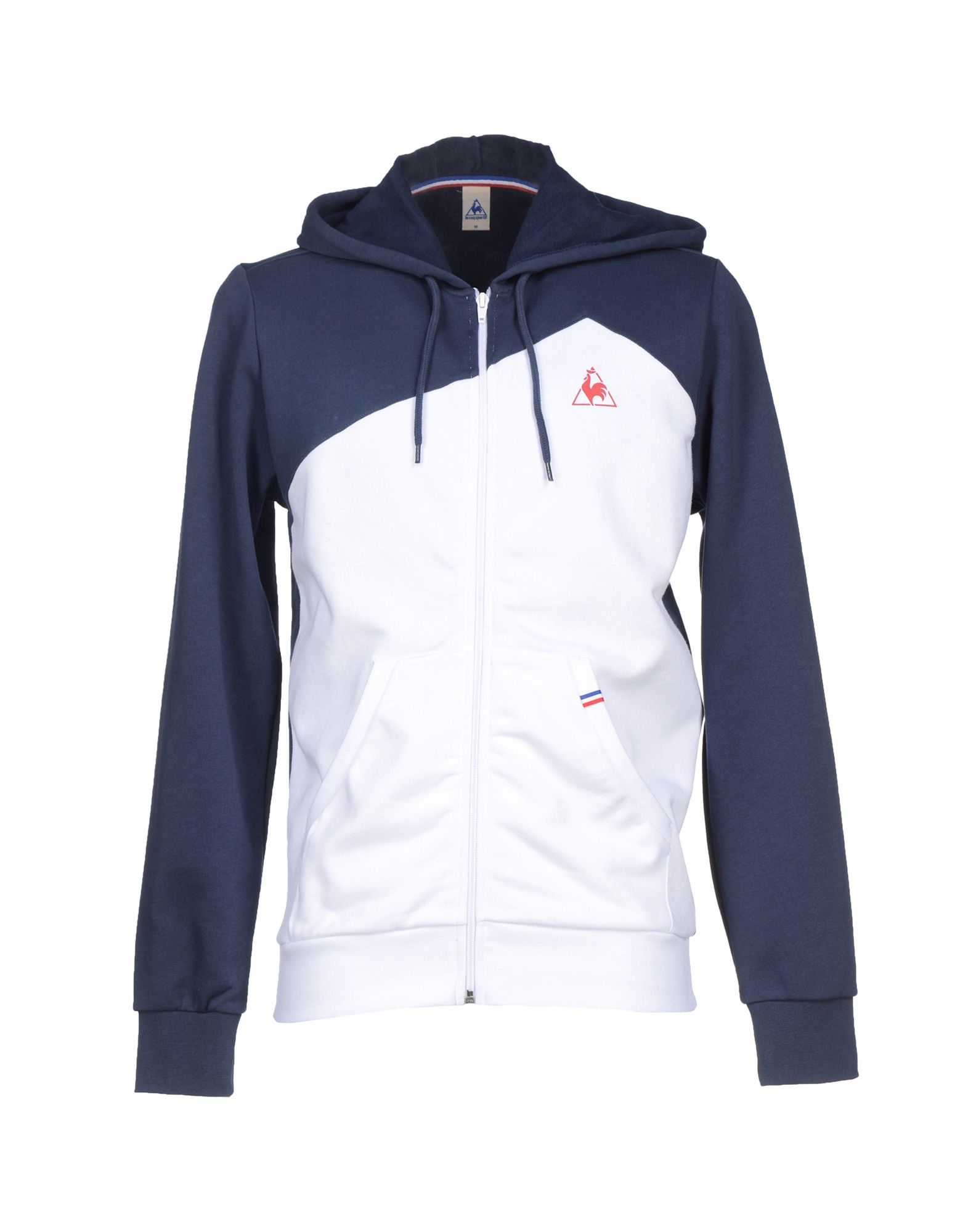 le coq sportif sweatshirt in white for men lyst. Black Bedroom Furniture Sets. Home Design Ideas