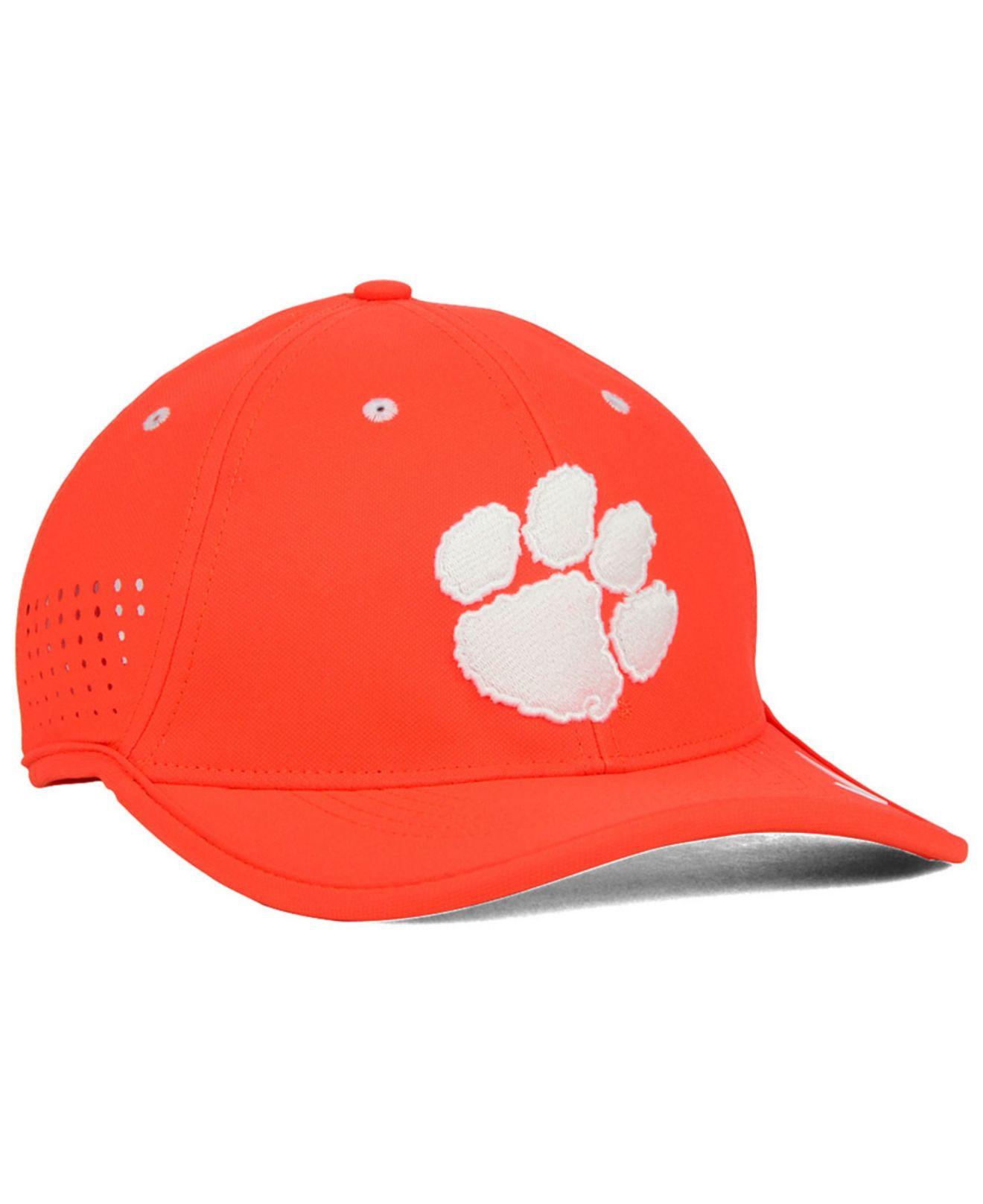 fda0679c888 ... performance adjustable hat 07507 85b07  cheap lyst nike clemson tigers  dri fit coaches cap in orange for men bbca9 3f35f