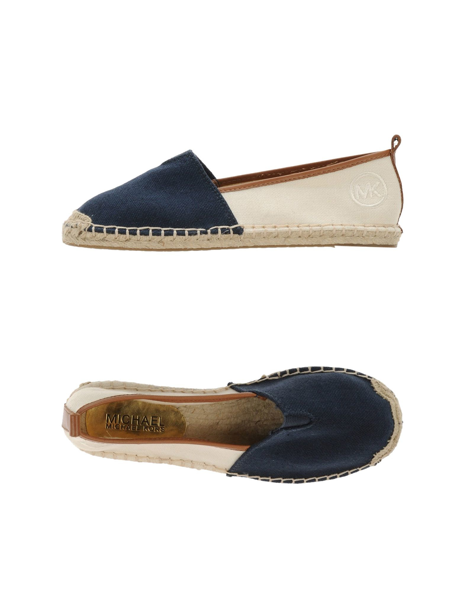 michael michael kors espadrilles in blue lyst. Black Bedroom Furniture Sets. Home Design Ideas