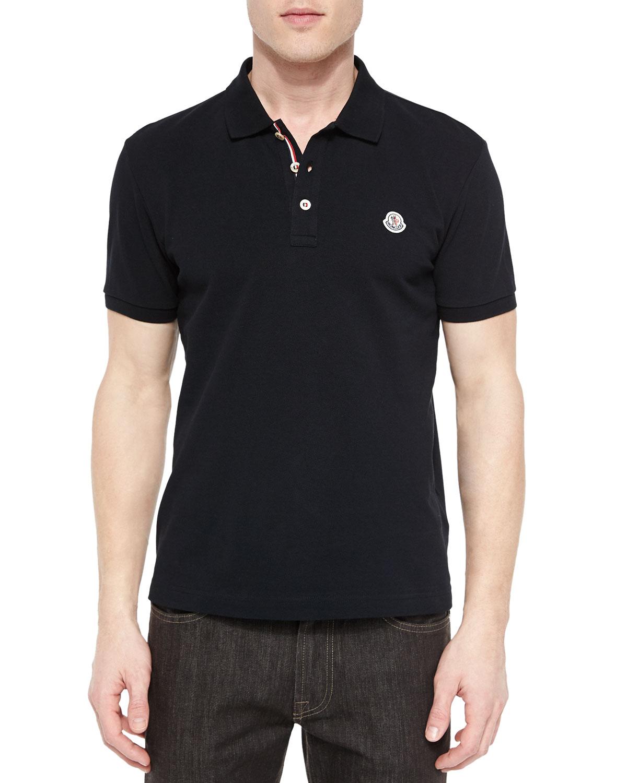 black moncler shirt