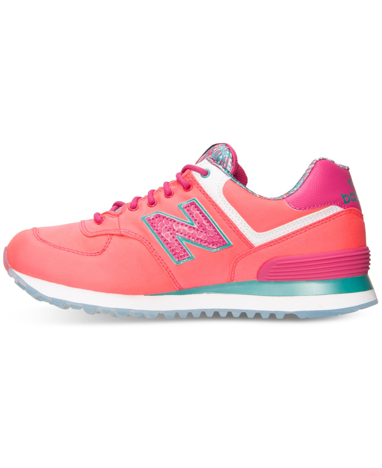 new balance womens 574 island casual sneakers from finish line