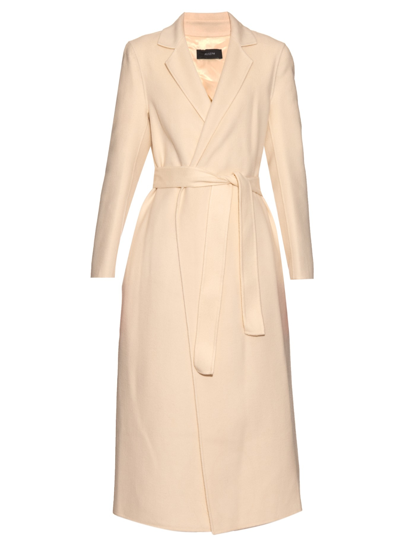 Joseph Kido Wool And Cashmere-blend Coat in White | Lyst