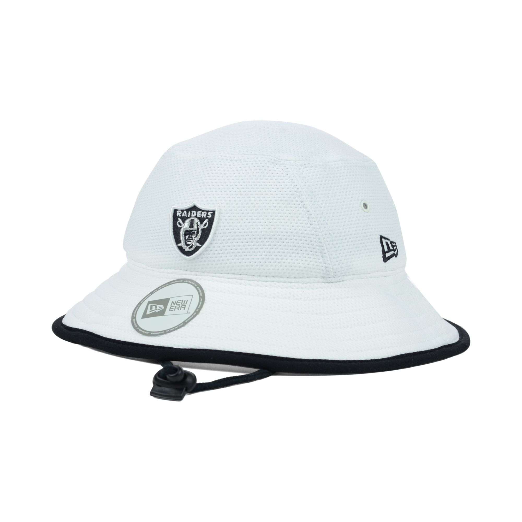 Lyst - KTZ Oakland Raiders Training Camp Bucket Hat in White for Men 78c93692ca2e