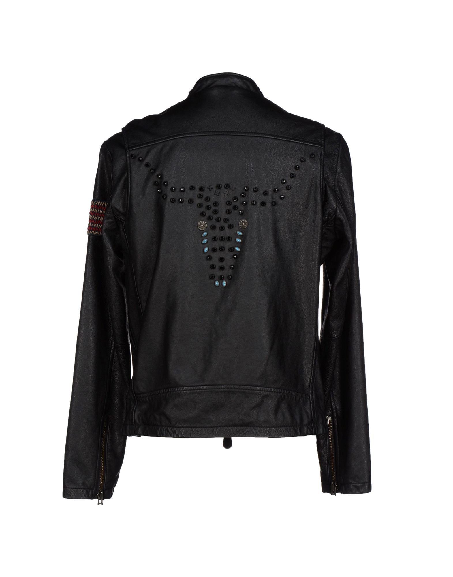 true religion jacket in black for men lyst. Black Bedroom Furniture Sets. Home Design Ideas