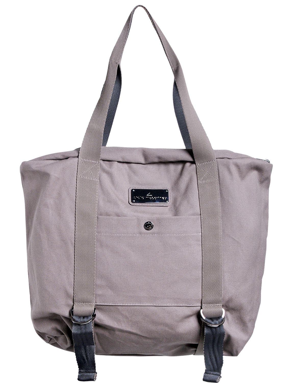 Lyst Adidas By Stella Mccartney Yoga Shoulder Bag In Gray