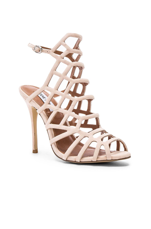 6c5a723eb86 Lyst - Steve Madden Slithur Heel in Pink