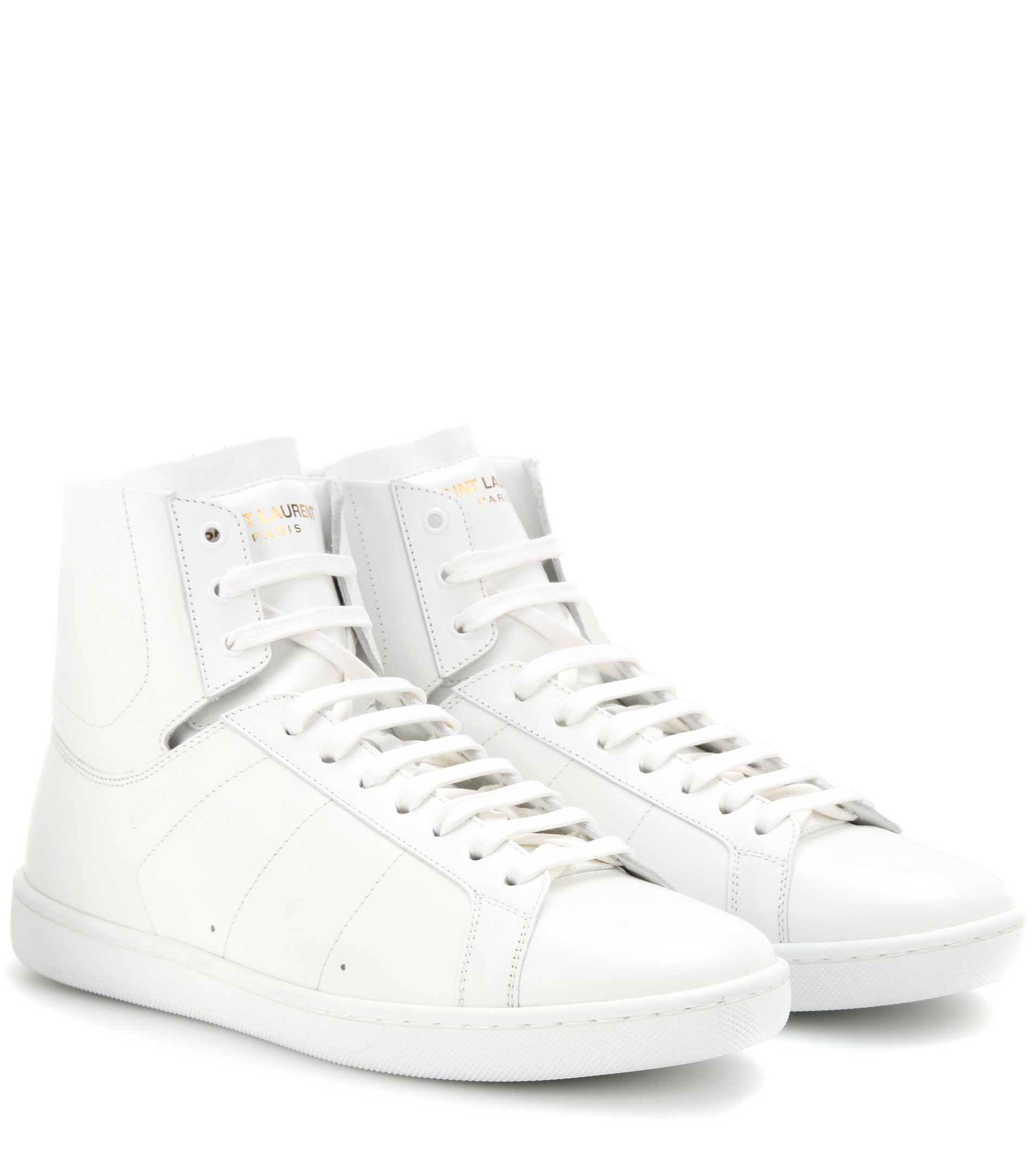 Classic Court hi-top sneakers - White Saint Laurent eWjTG