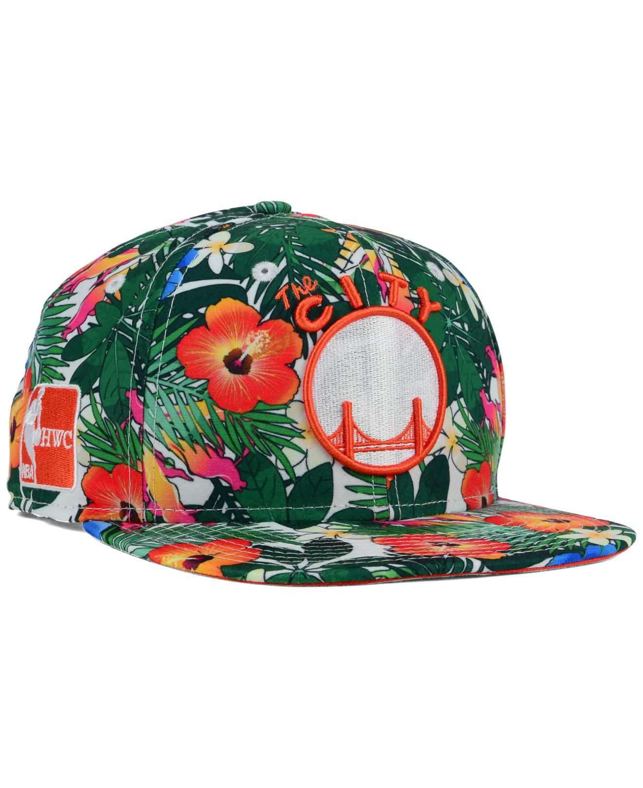 low priced b8065 eab1b ... discount code for lyst ktz golden state warriors hwc light floral  9fifty snapback 20015 a5aeb