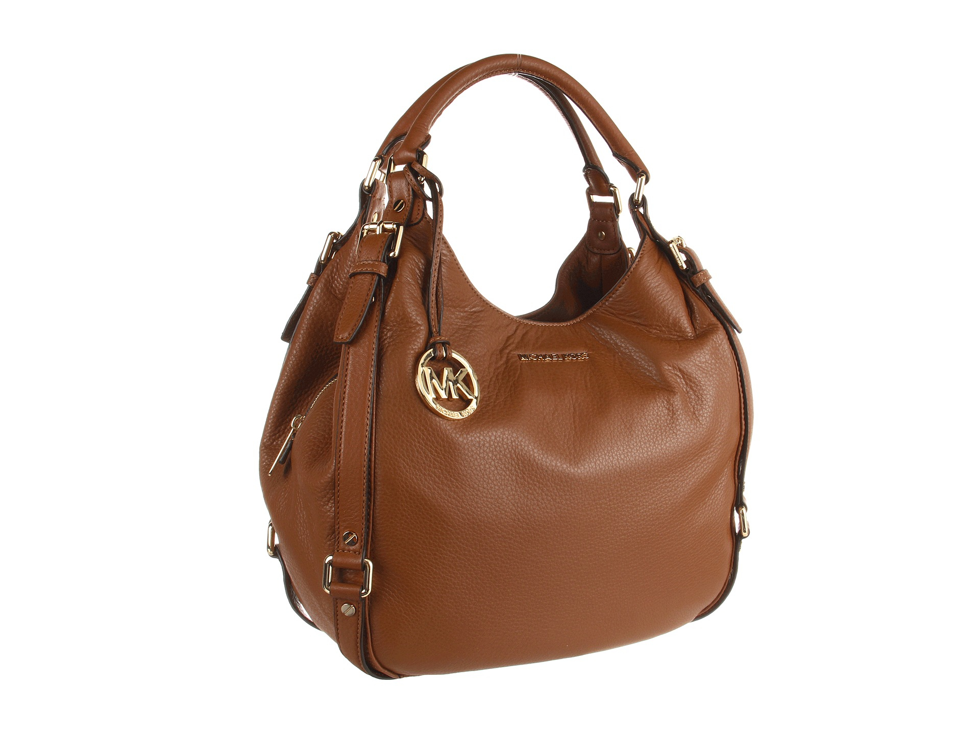 133e6b880df5 MICHAEL Michael Kors Bedford Large Shoulder Tote in Brown - Lyst