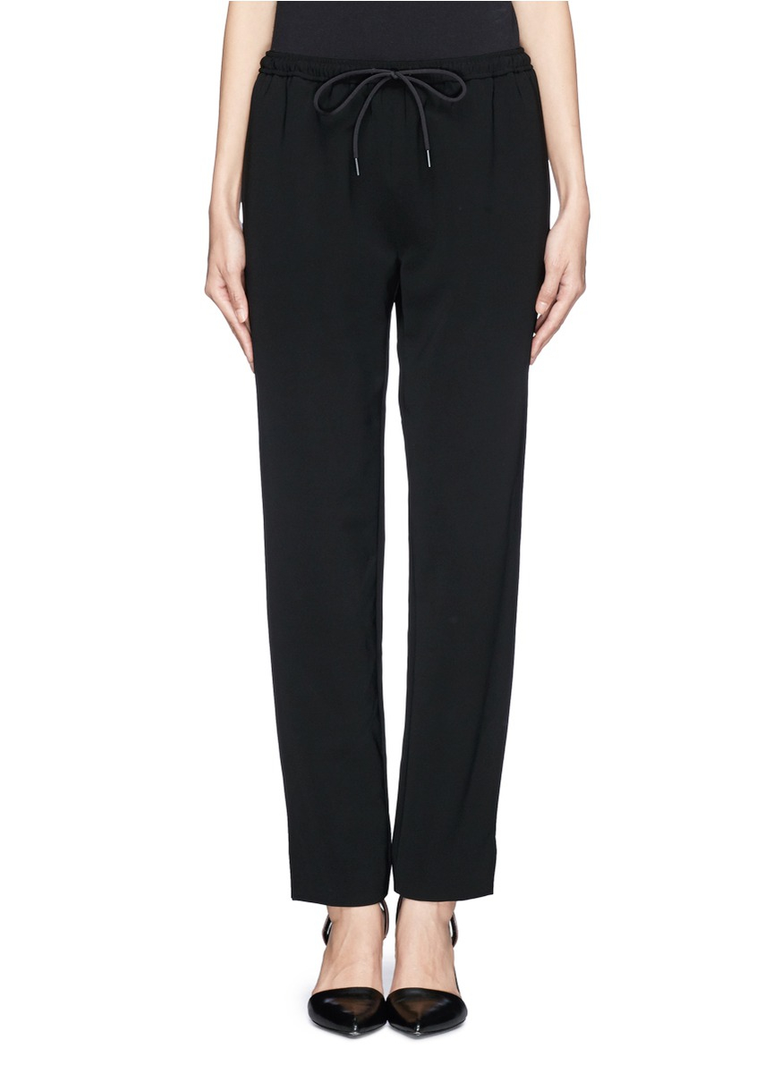 Multi Coloured Alexander Wang Wool Crepe Pants Shopping Latest Discount Cheapest Discount Get Authentic Xj4z9Z3c