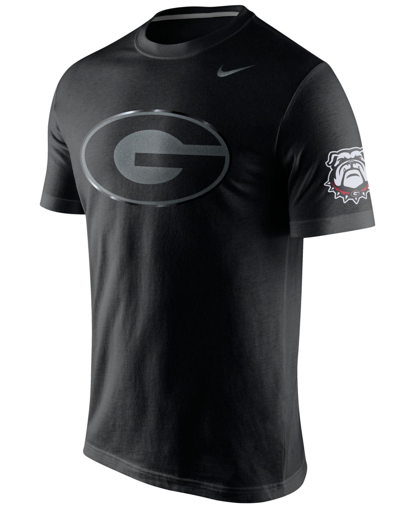 Nike Men 39 S Georgia Bulldogs Stadium Lights React T Shirt