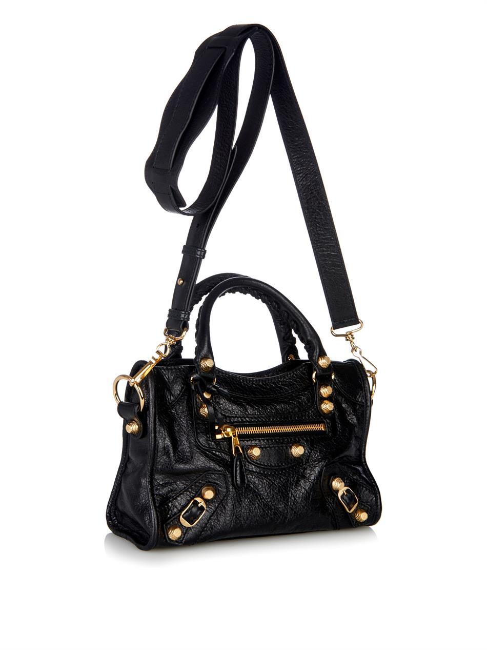 Balenciaga Giant 12 Hip Bag In Black Lyst