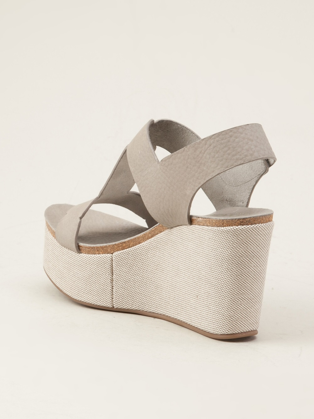 Pedro Garcia Delia Shoes In Gray Lyst