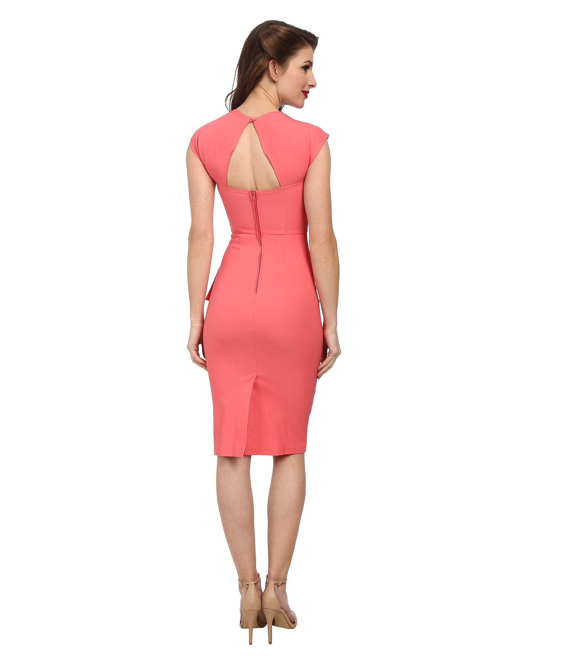 50f64197e9 Lyst - Stop Staring! Uma Fitted Dress in Pink