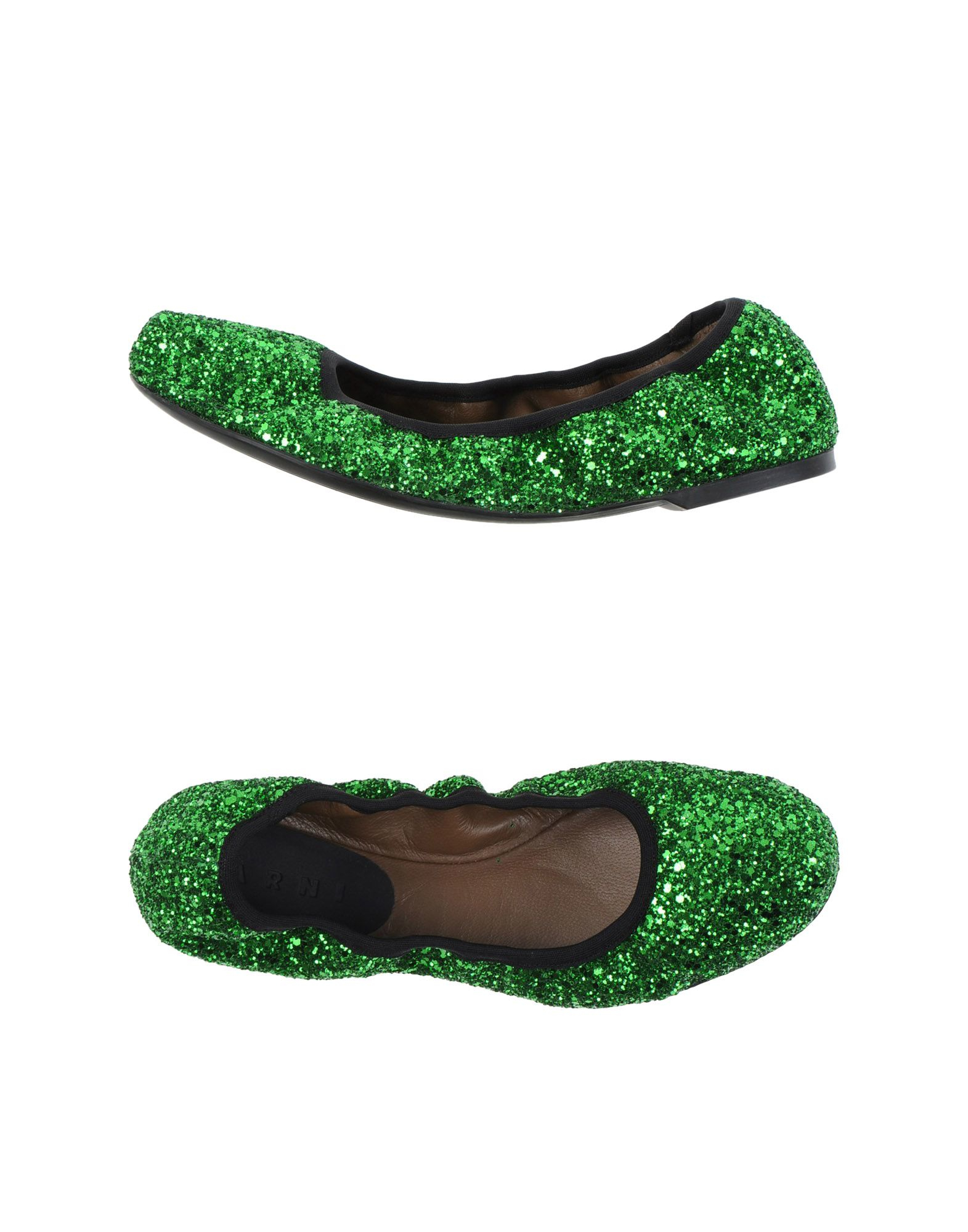 Green Ballet Shoes Womens
