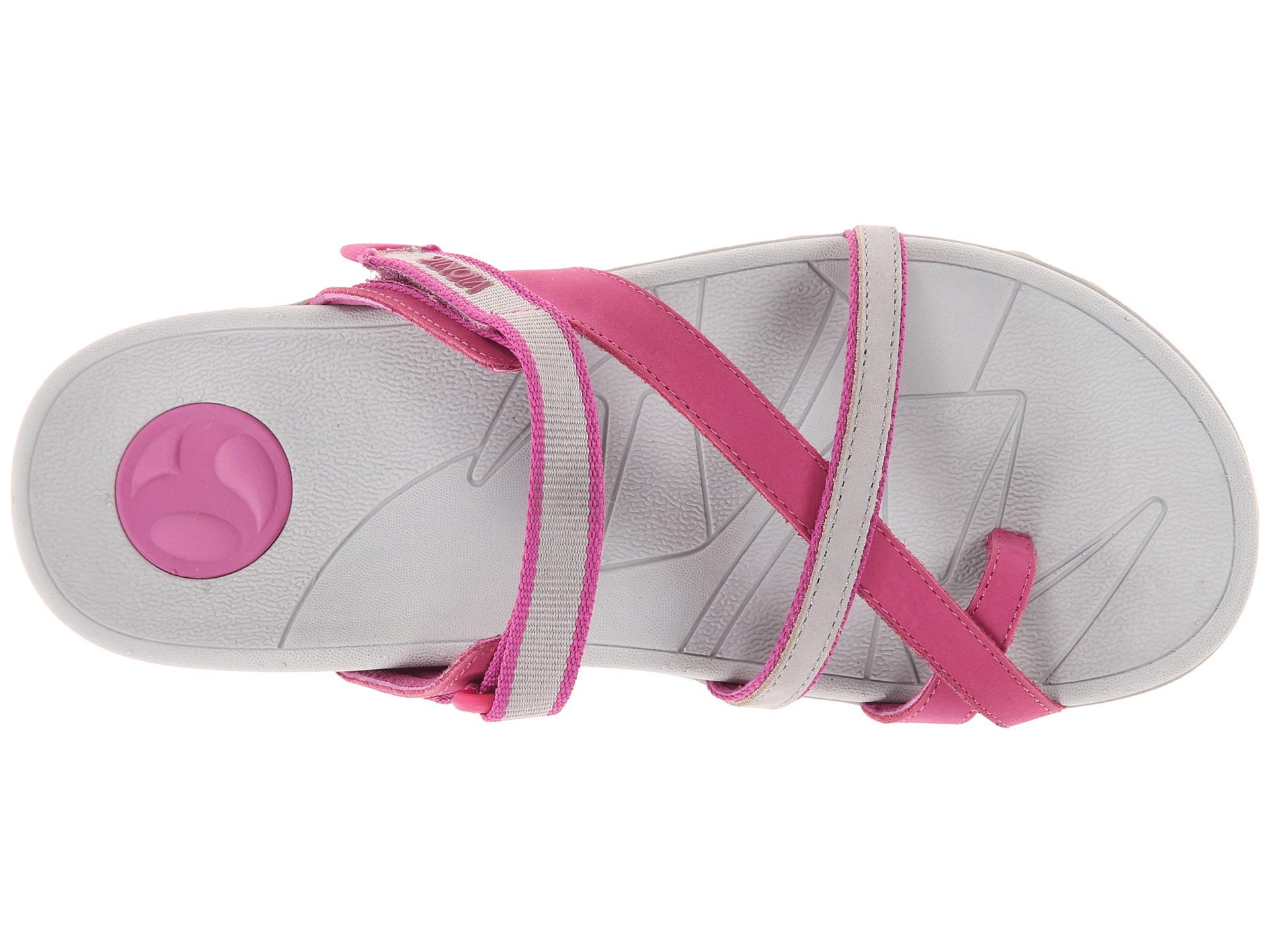 Vionic Mojave Sport Recovery Toepost Sandal In Purple Lyst