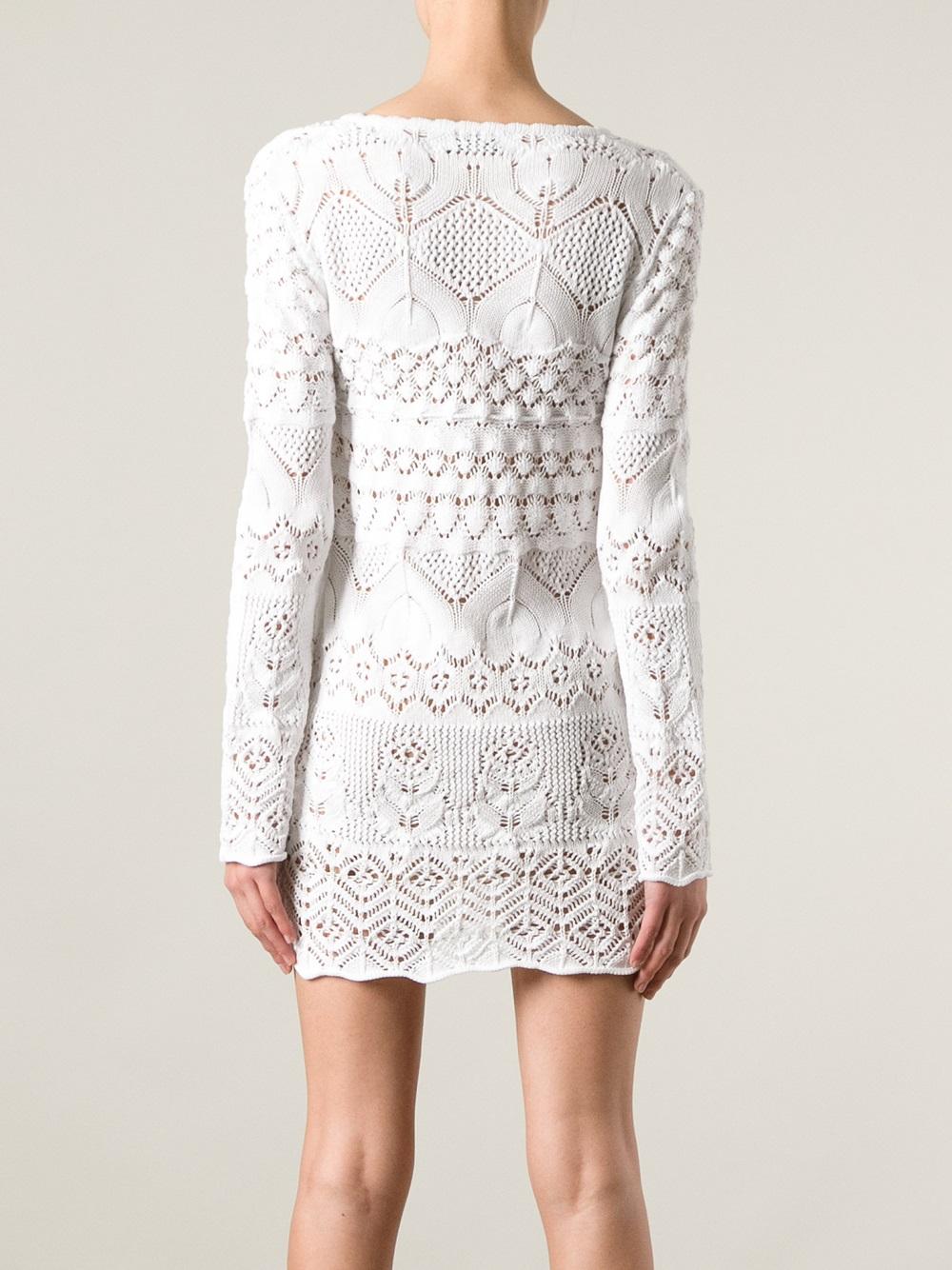 White dress crochet - Gallery