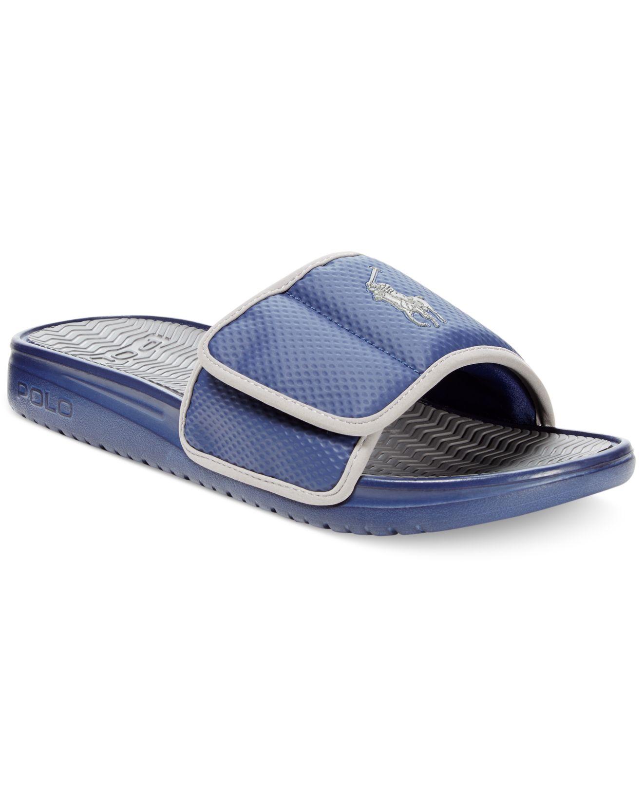 Ralph Lauren Polo Slide Sandals Prism Contractors