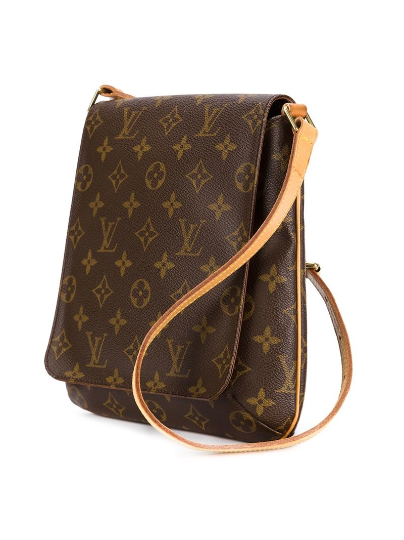 Louis Vuitton Musette Salsa Shoulder Bag Brown on oscar de la renta leather handbags