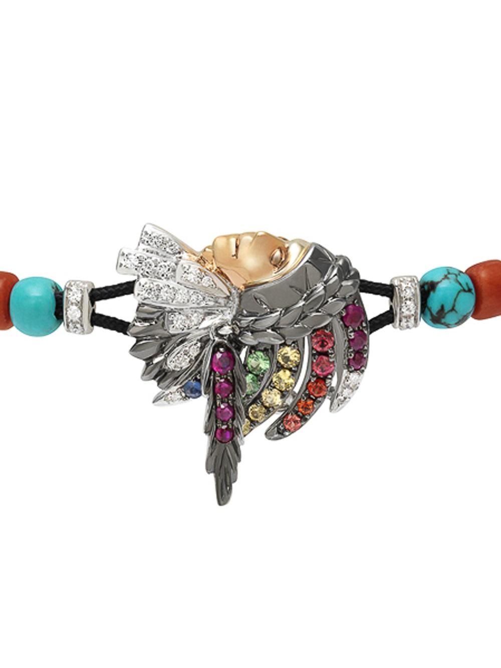 Lyst Pippo Perez American Indian Bracelet In Metallic