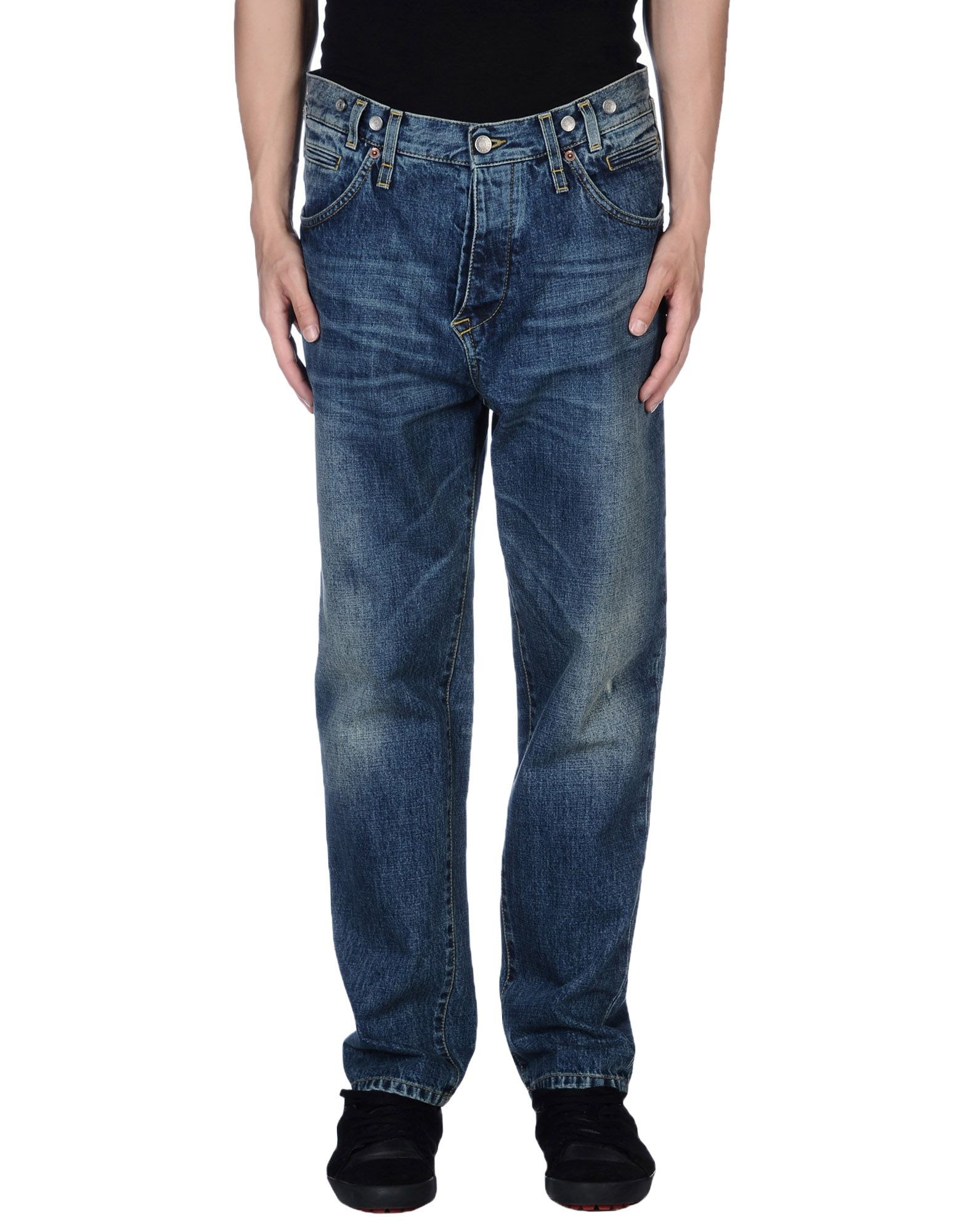 lyst dolce gabbana denim trousers in blue for men. Black Bedroom Furniture Sets. Home Design Ideas