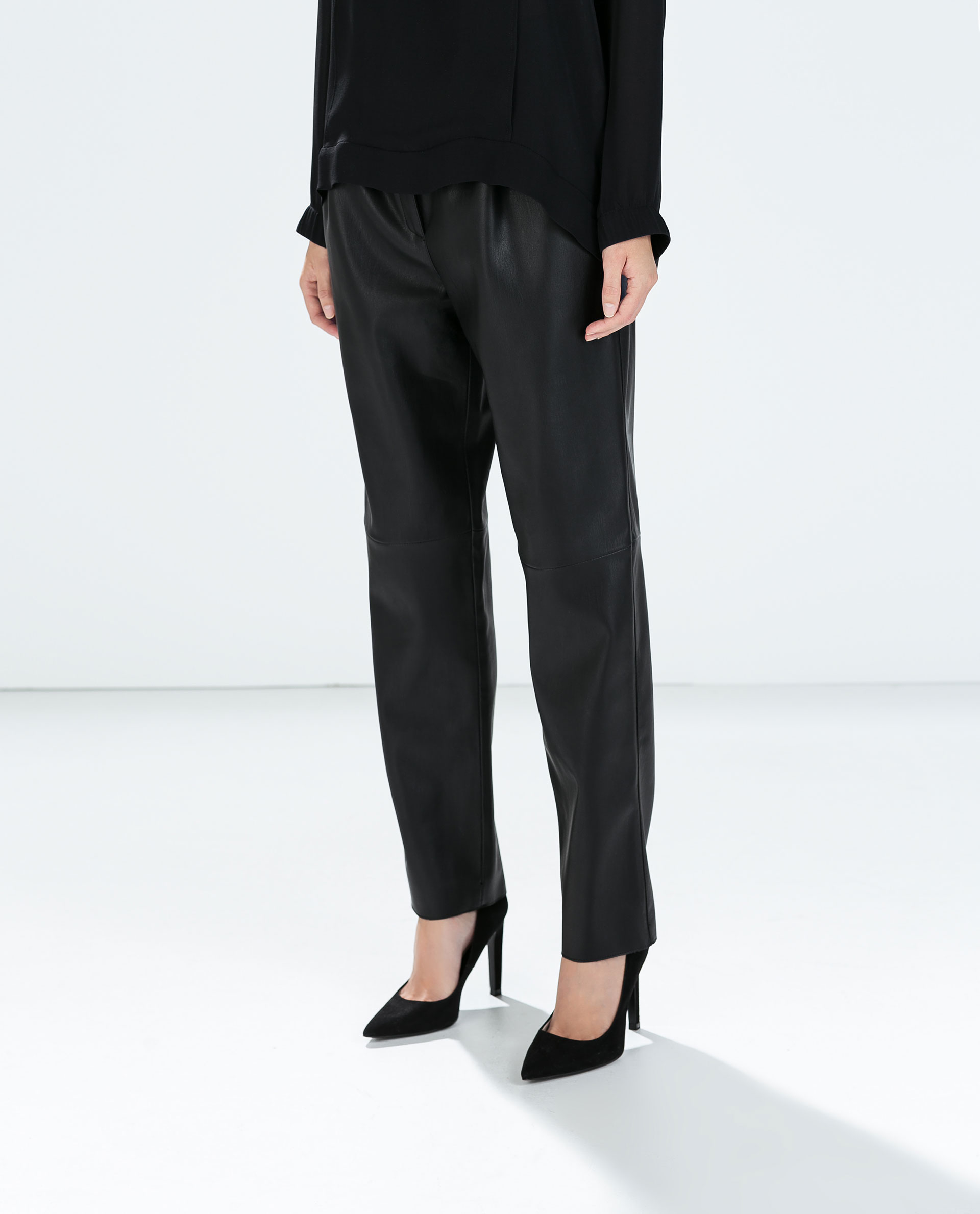 Cool Women39s Faux Leather Pants Women39s Black Leather Pants
