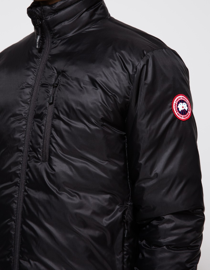 Canada Goose chilliwack parka online authentic - Canada goose Lodge Down Jacket In Black in Black for Men | Lyst