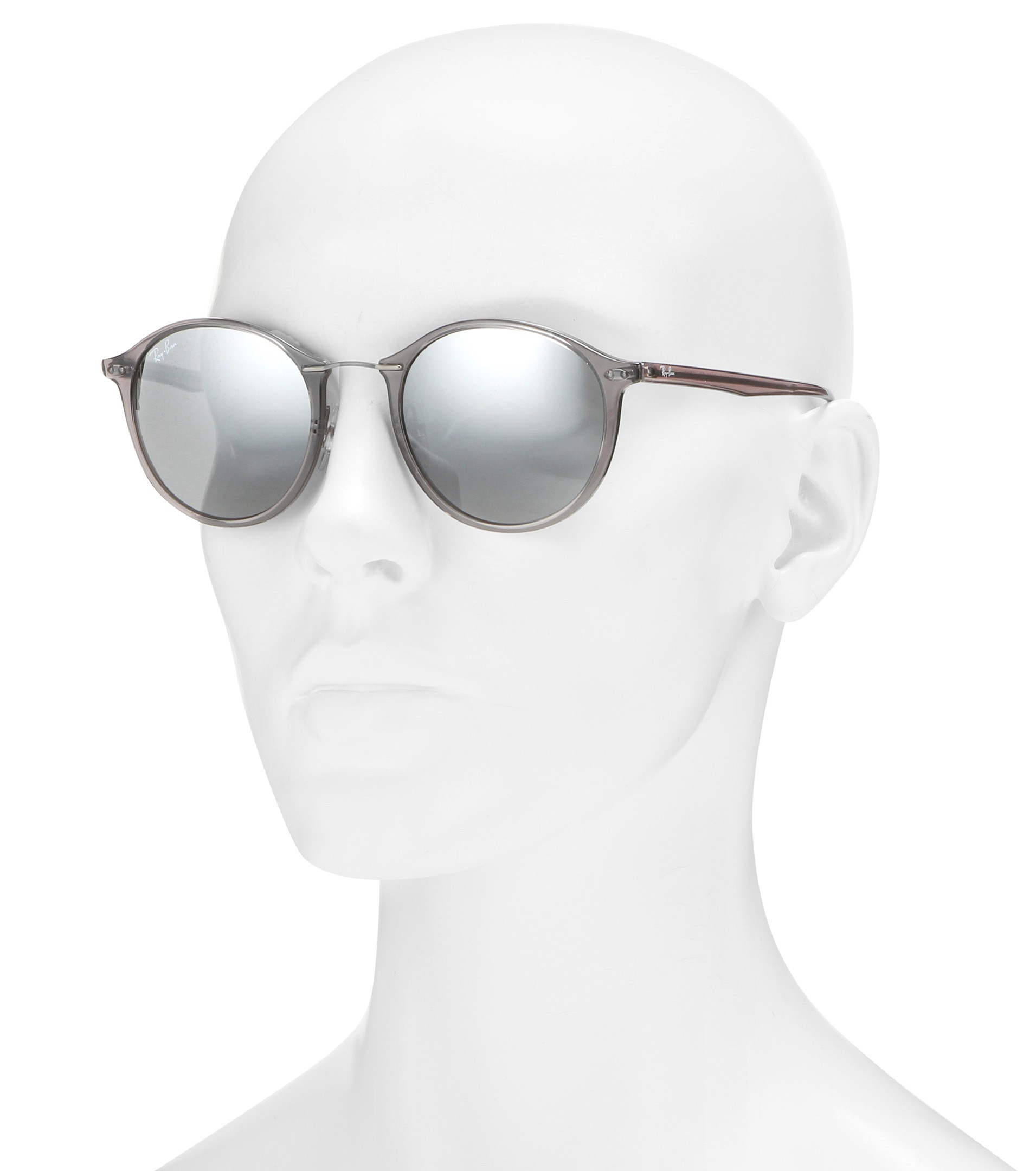 fcad709823 ... hot lyst ray ban rb4242 round sunglasses in white d2d9b 5e0fd