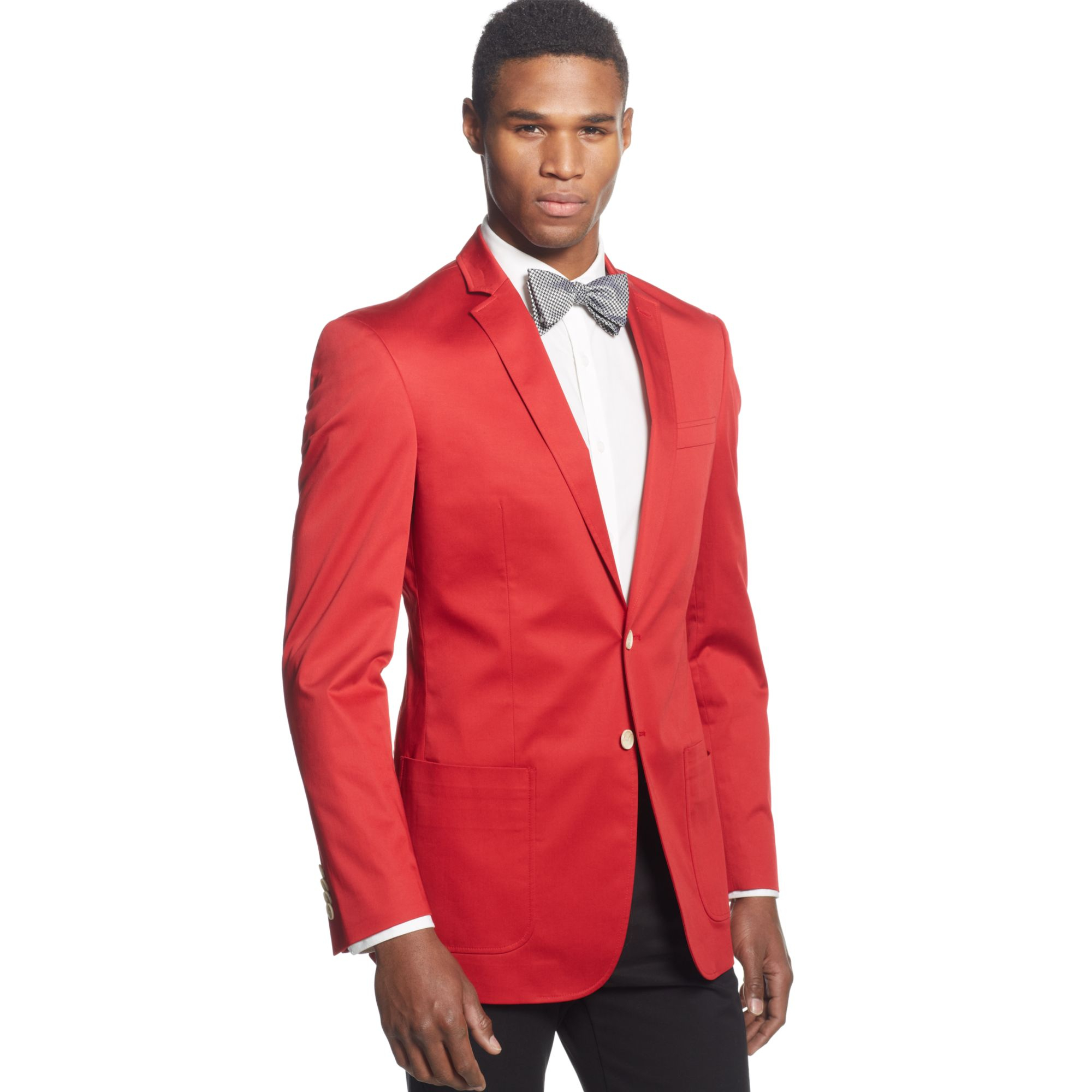 Red dress jacket mens tall clothing