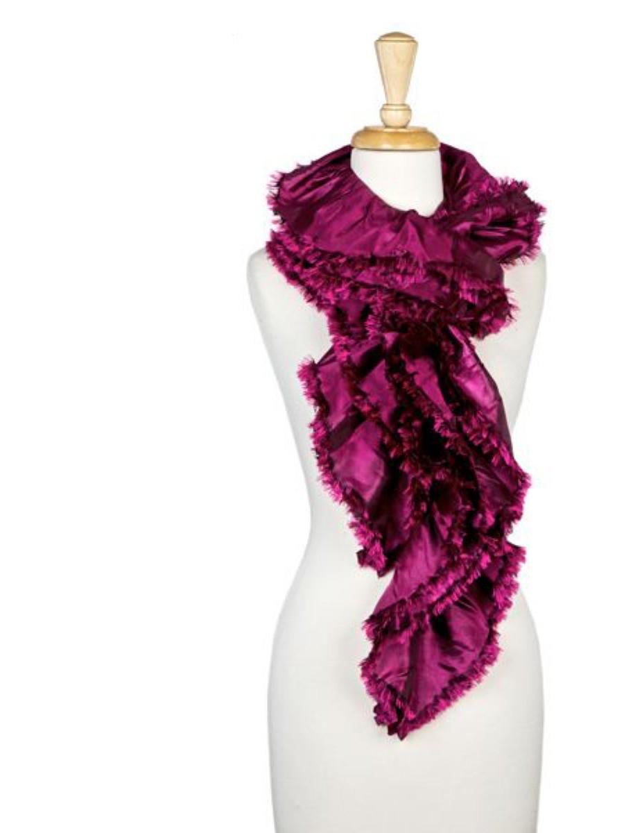 fornash boa scarf in purple lyst