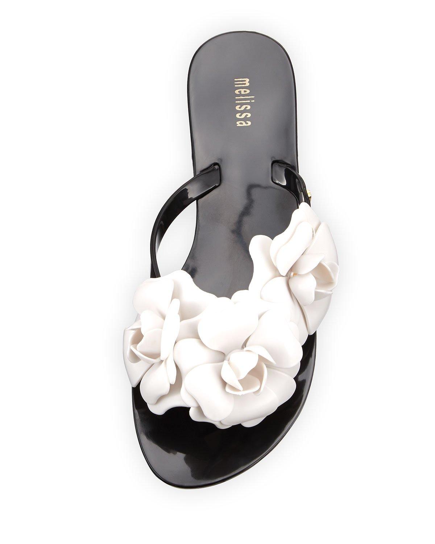 3d479b9d4e398 Melissa Harmonic Garden Flower Sandals - Flowers Healthy