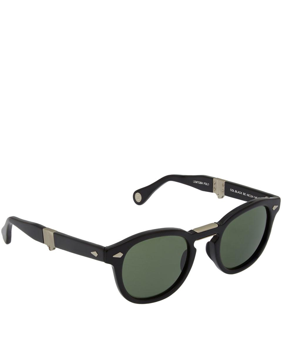 de676e86d9e Moscot Black Lemtosh Folding Sunglasses in Black for Men