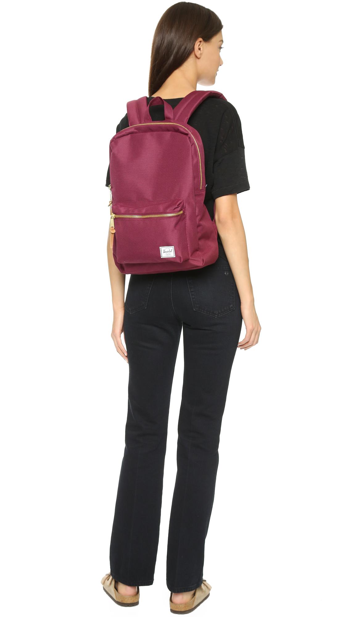 dec67a0a5ea Herschel Supply Co. Settlement Backpack - Windsor Wine in Purple - Lyst
