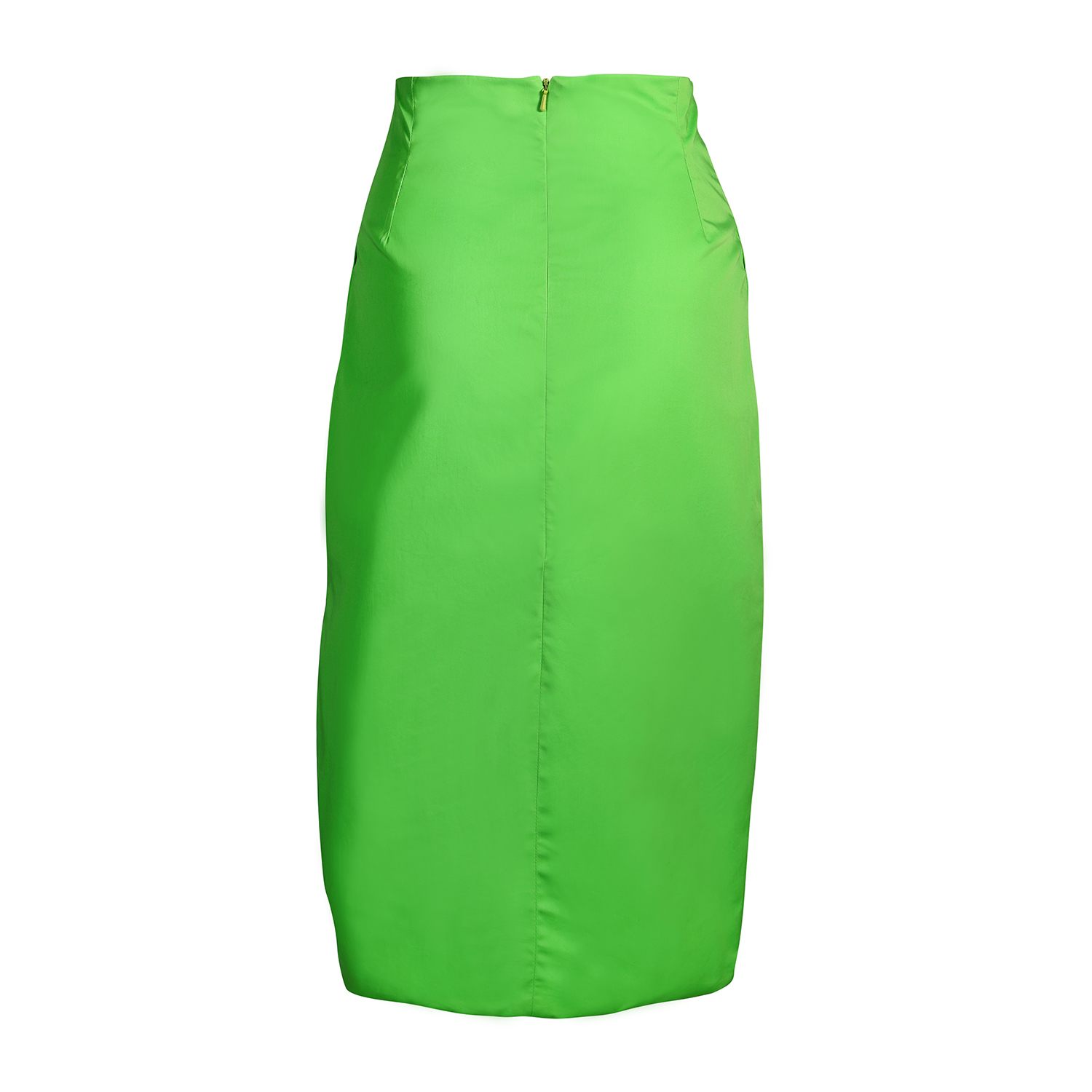 sydney davies high waisted tailored skirt in green lyst