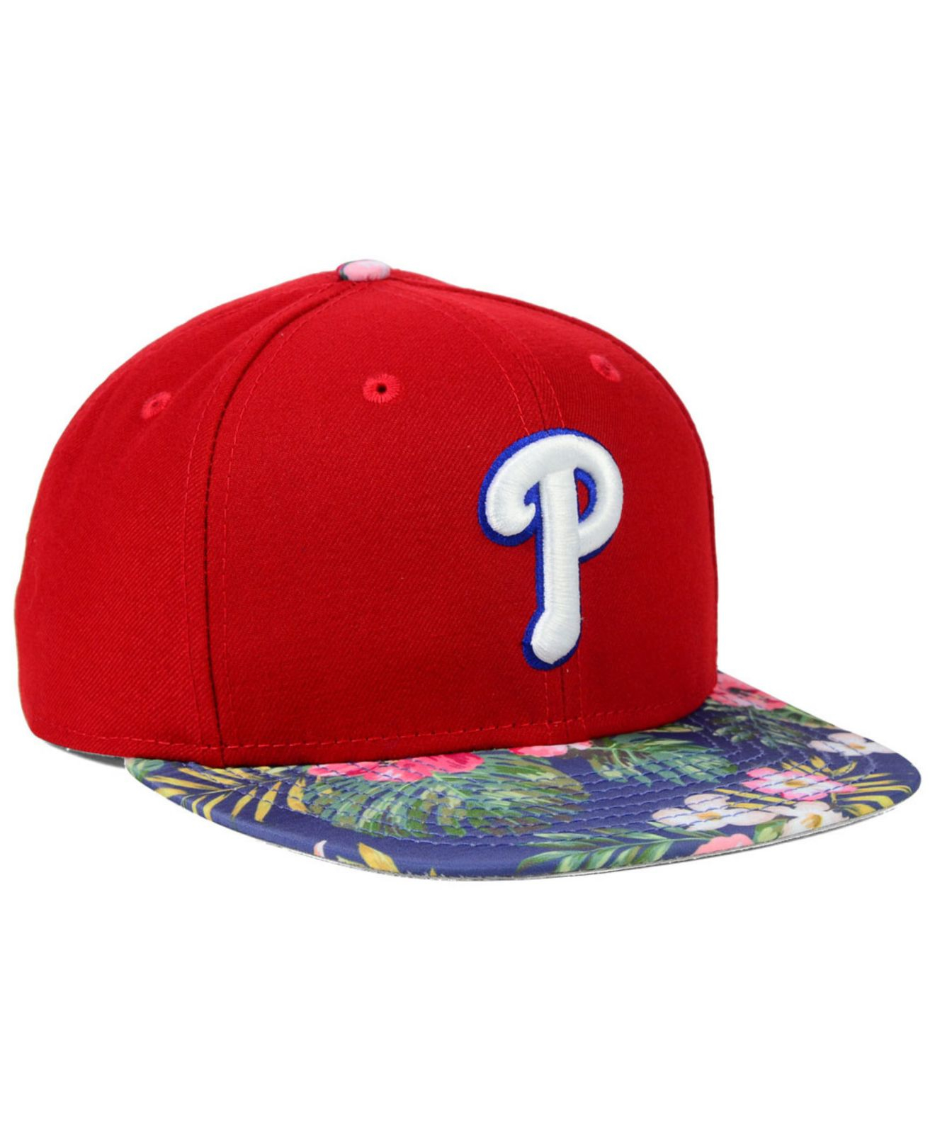 Lyst - KTZ Philadelphia Phillies Tropic Time 9fifty Snapback Cap in ... d4da3a031cfd