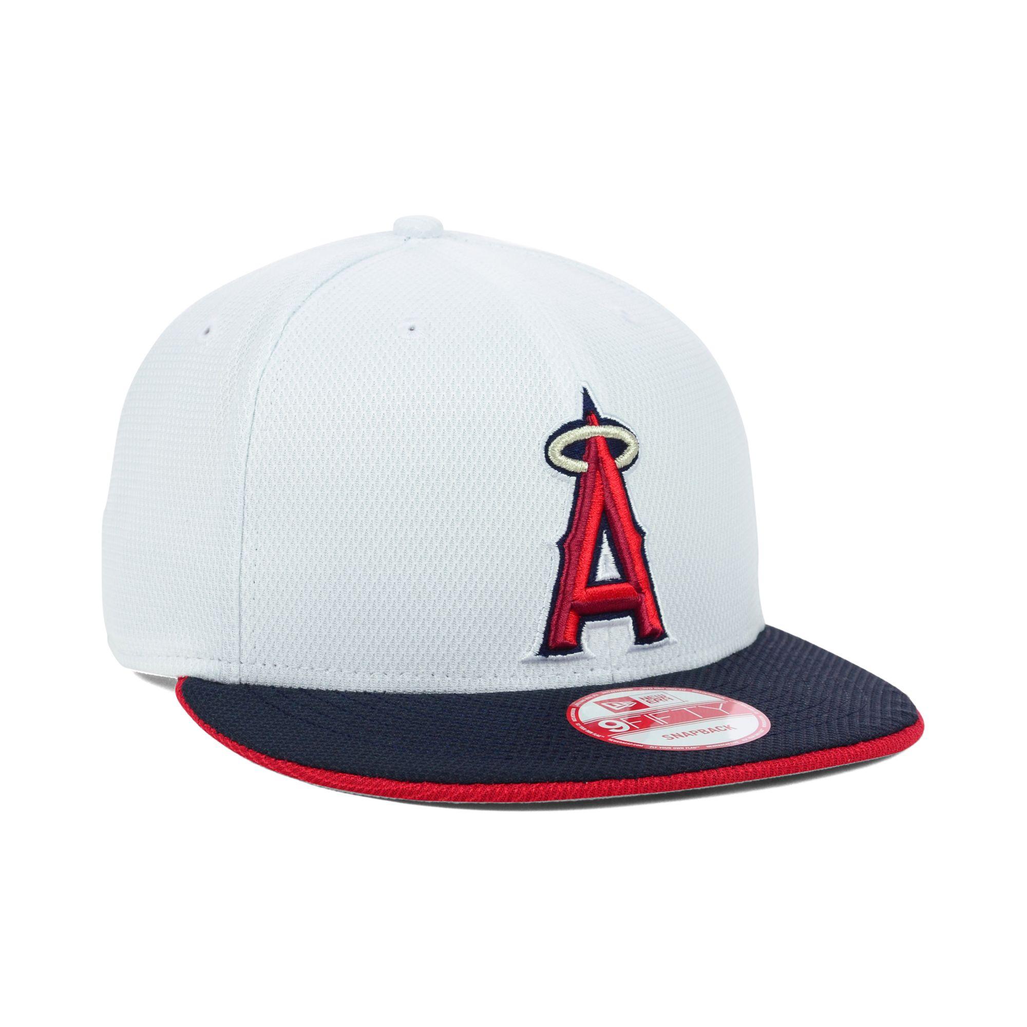 5a39c1db KTZ Los Angeles Angels Of Anaheim Mlb White Diamond Era 9fifty ...