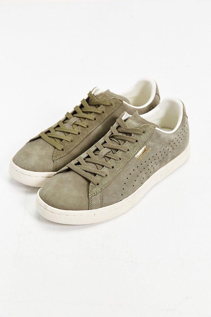 88f147c233cf Lyst - PUMA Court Star Citi Series Nubuck Sneaker in Green for Men