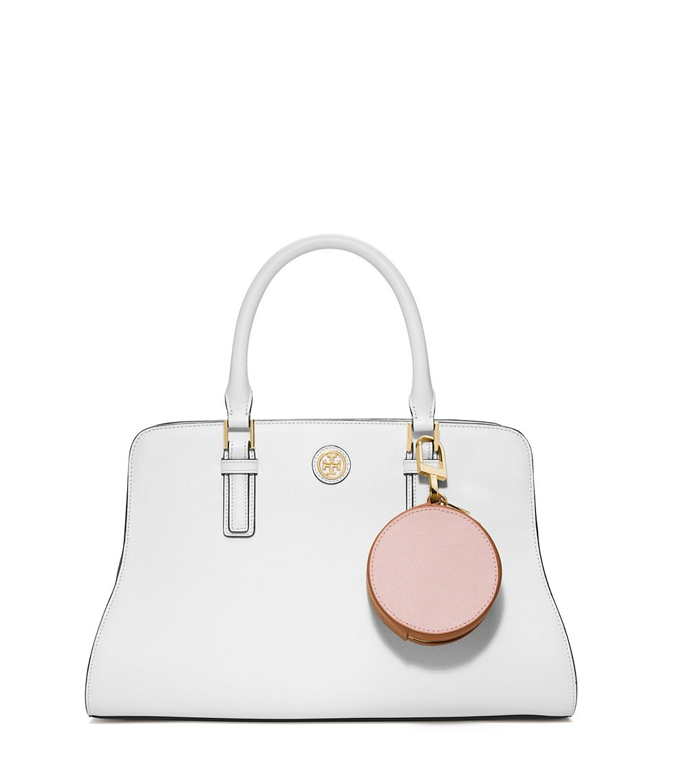 f24cfc510ce Lyst - Tory Burch York Color-Block Circle Pouch in Pink