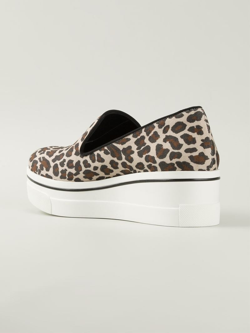 Stella McCartney flatform leopard sneakers amazing price for sale with credit card cheap online 0WOk9WG0C1