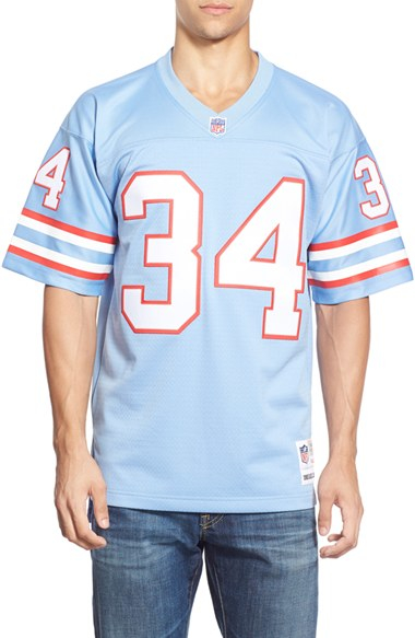 f2cc1297 Mitchell & Ness 'earl Campbell' Replica Jersey in Blue for Men - Lyst