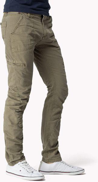 Tommy Hilfiger Shayne Slim Fit Cargo Pant In Green For Men