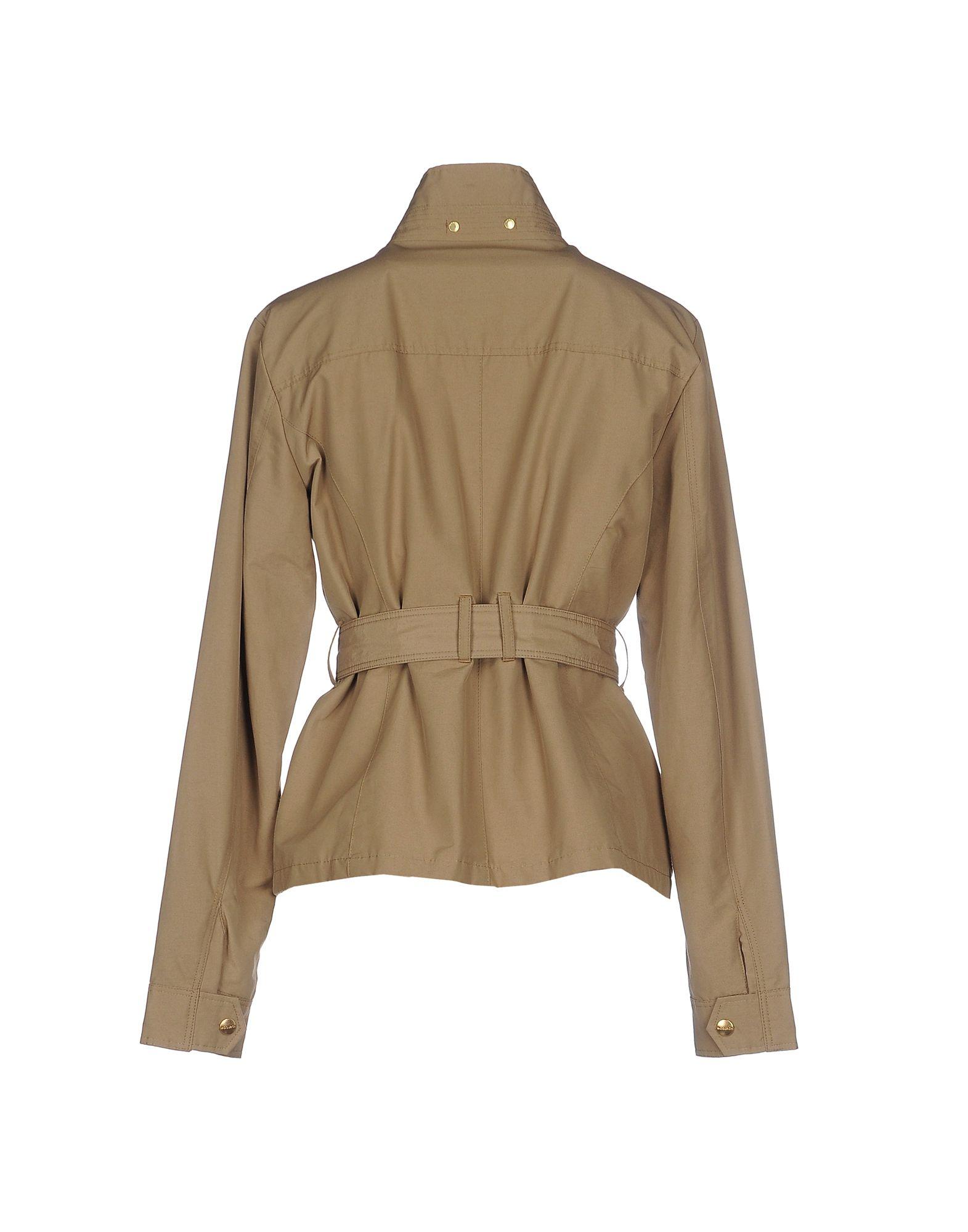 Woolrich Jacket In Green Lyst