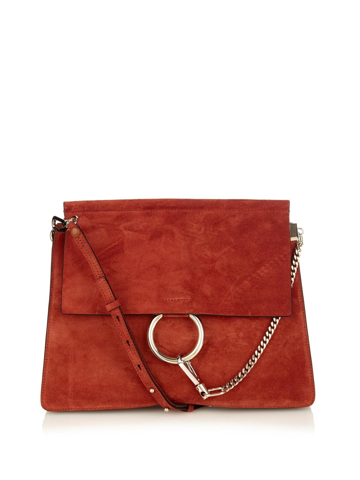 443b4d0ea Chloe Faye Bracelet Bag Red | Stanford Center for Opportunity Policy ...