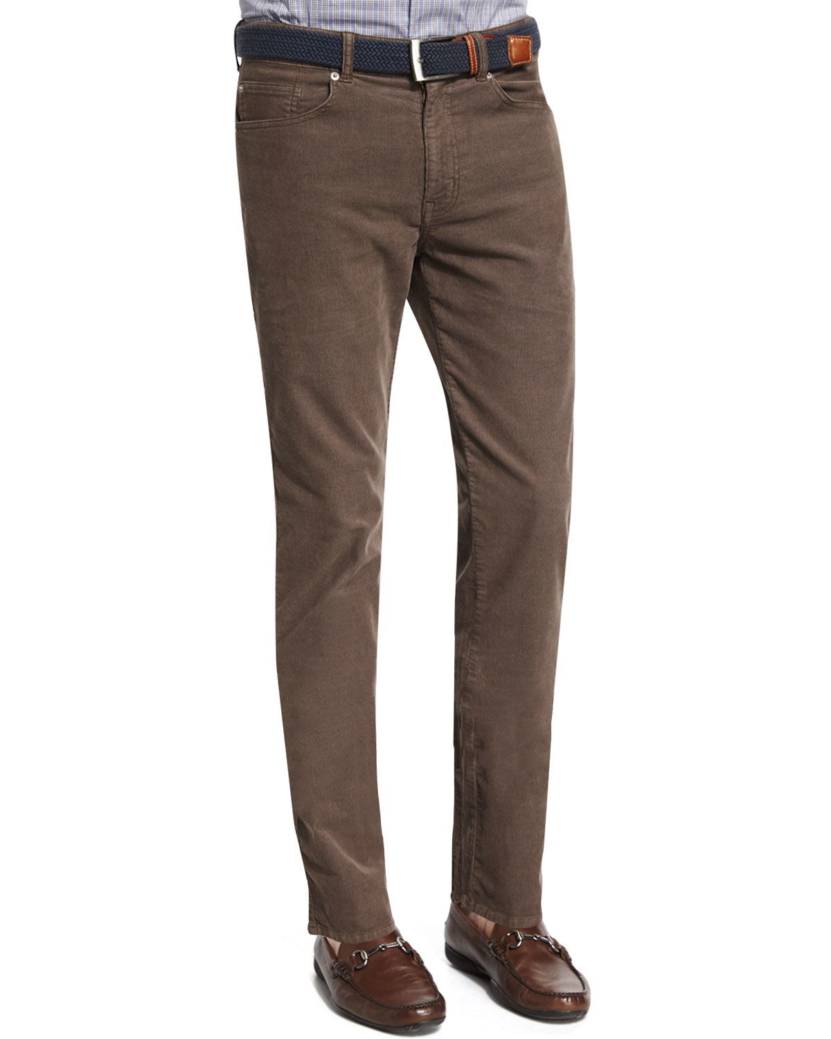 1c22ad60ed96d4 Peter Millar Five-pocket Stretch Corduroy Pants in Brown for Men - Lyst