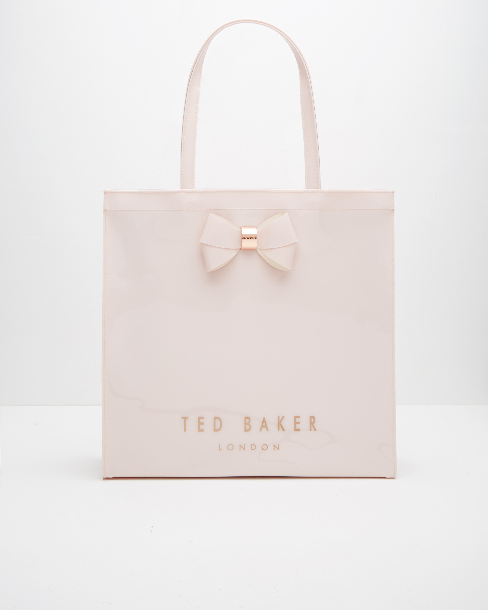 43fa067ddbee Lyst - Ted Baker Bow Detail Large Shopper Bag in Pink