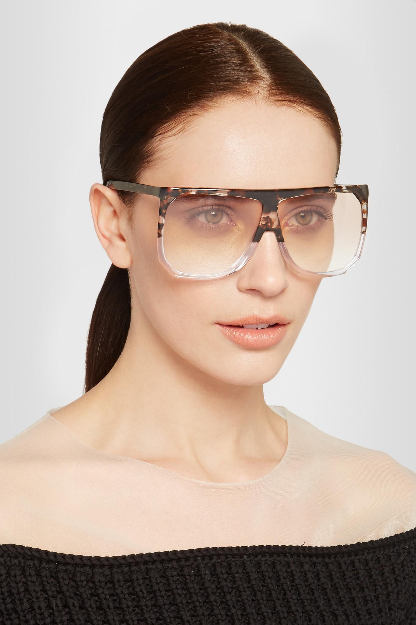 edf6e2e739 Loewe Filipa D-frame Acetate Sunglasses - Lyst