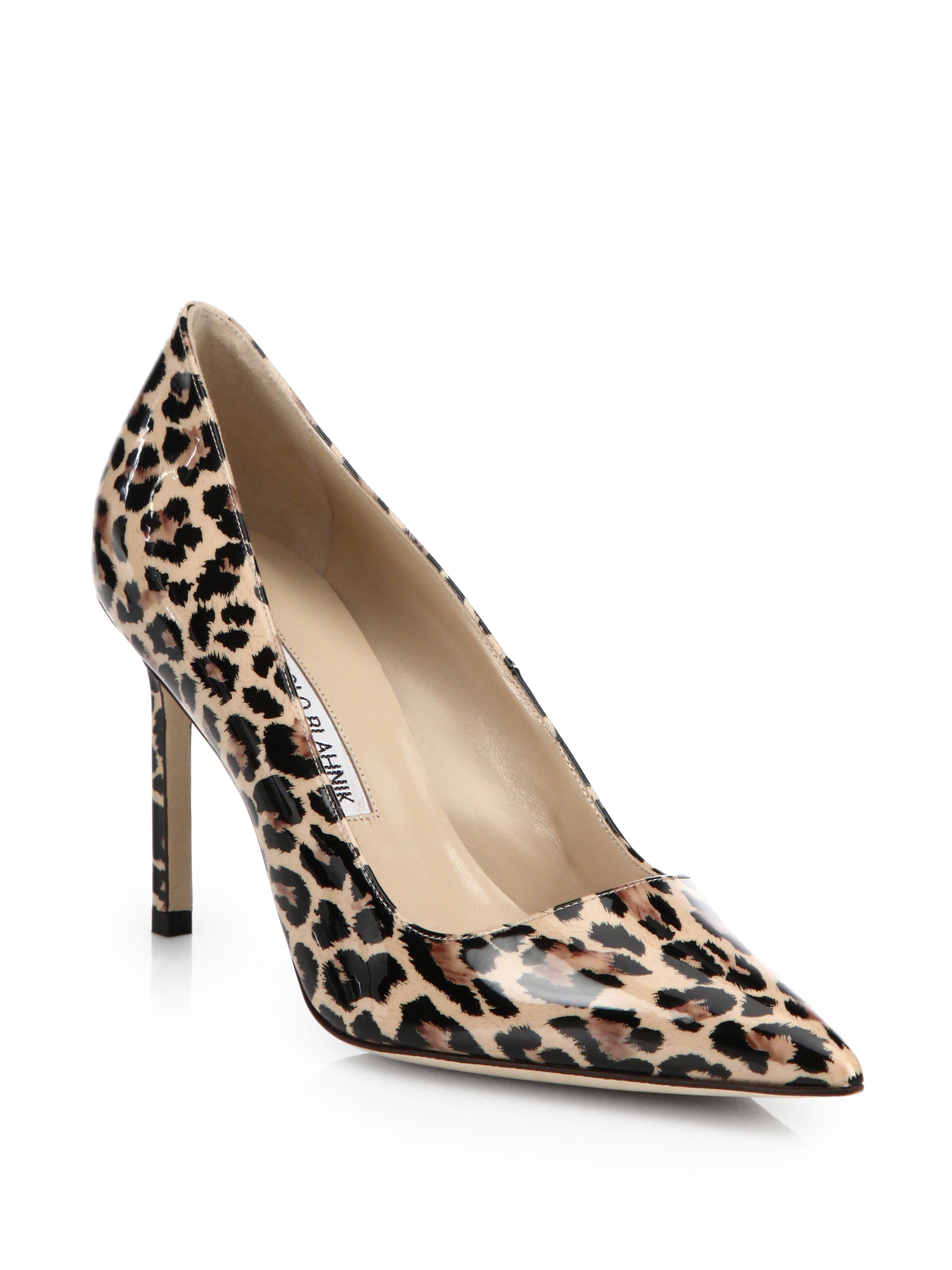 leopard manolo blahnik pumps shoes