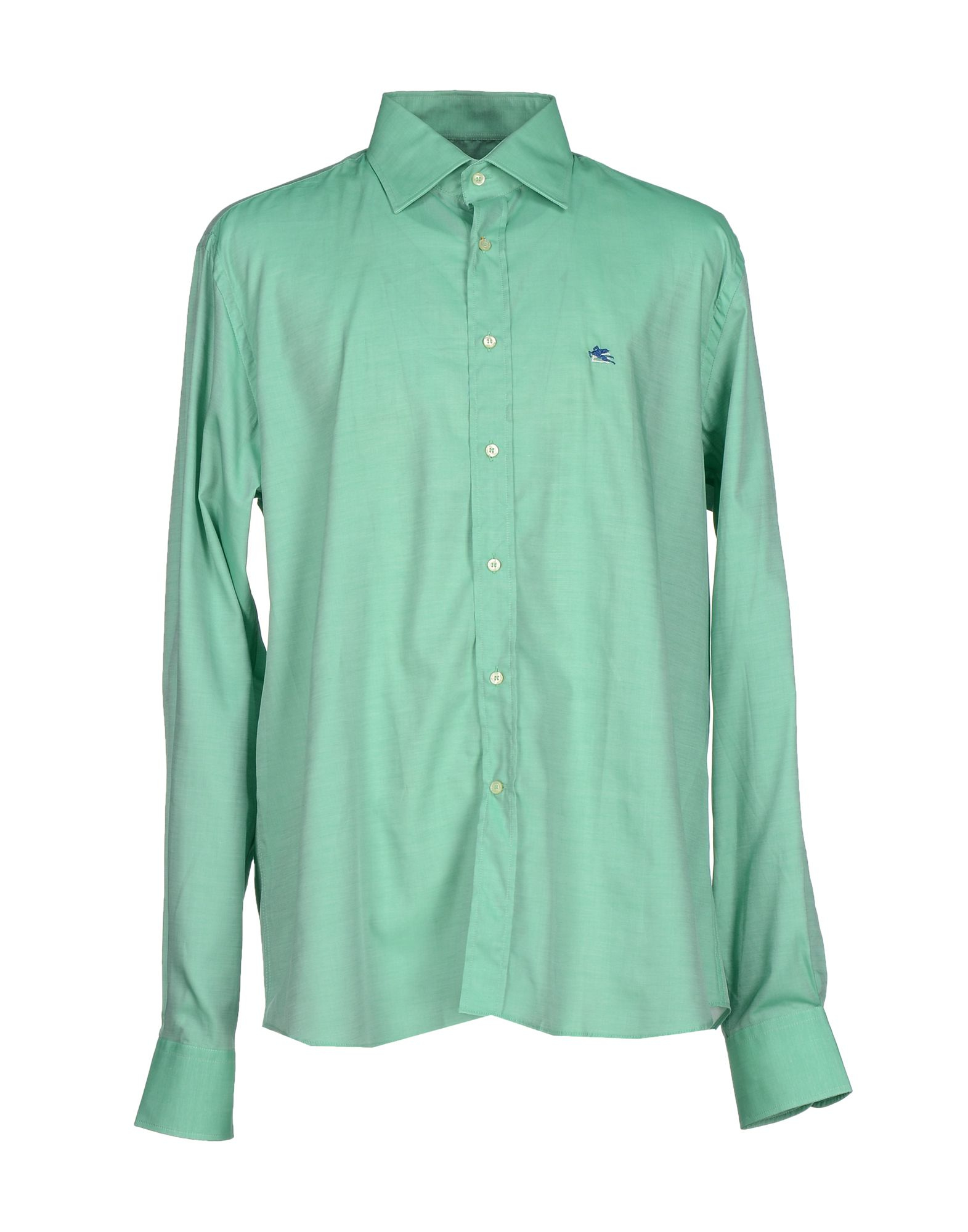 Etro shirt in green for men lyst for Etro men s shirts